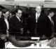 1982 Exposition au foyer des PTT à  Montparnasse - à droite François Bernardini Pdt du Club National
