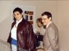 Nicole Casile et Didier Lafosse, membres du club - 1993