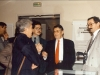 Michel Ridet Pdt du Club National, Yves le Maguet, Jacques Géraud Pdt du club IdF, Jacques Céron - 1993