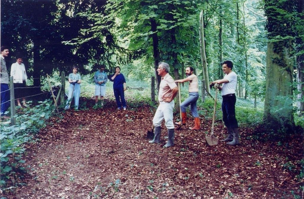 05- Juin 1988 La première équipe.