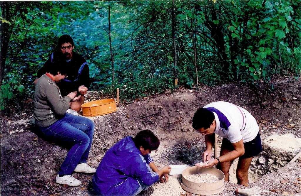 1994 - Guy Lacombe, Nicole Casile, Martine Lesgards, Claude HY - photo M. Le Gal