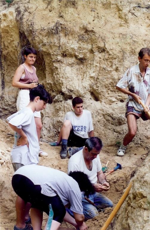 1994 - Famille Fabre Pierre, Brigitte et Ronan - photo M. Le Gal