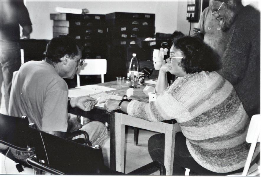 2001 - Claude et Birgit Palm