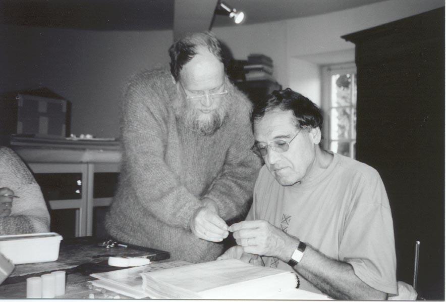 2001 - Claude et le pasteur danois Eiving Palm