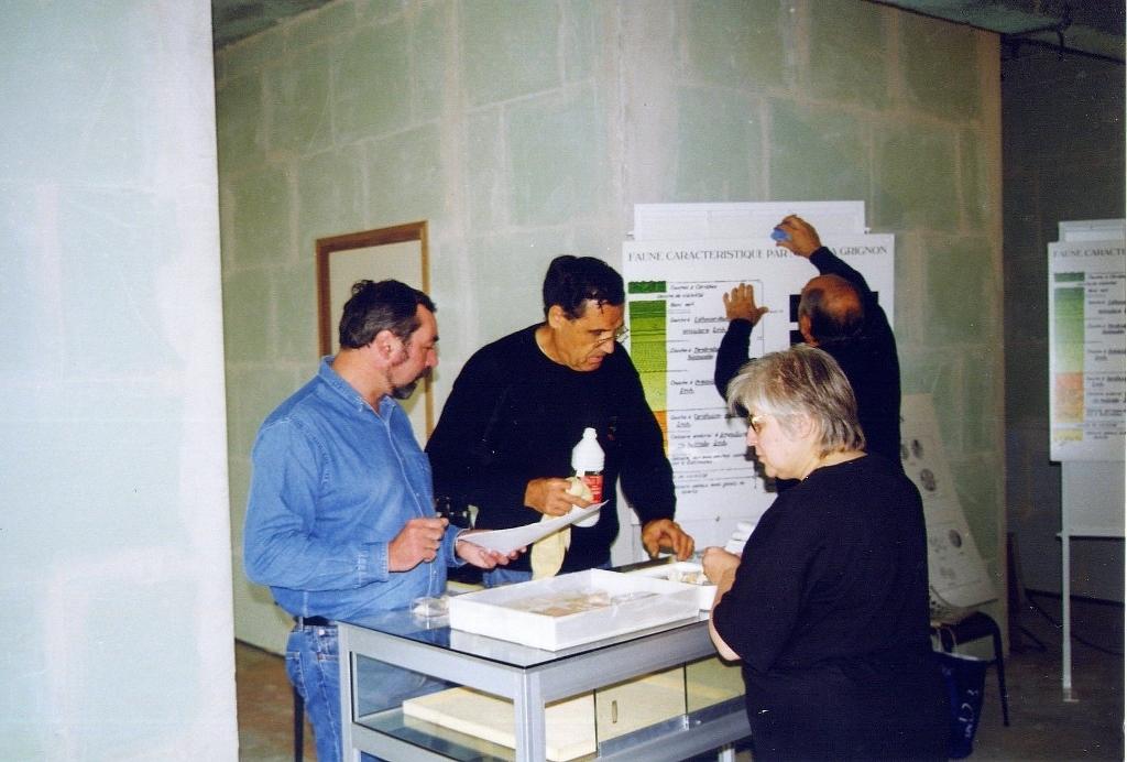 31- Novembre 1998 Préparation de l'exposition sur le Lutétien