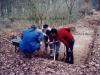 07- Mars 1989 Les débuts de la fouille scientifique par l'équipe de passionnés Nicole, Guy, Pierre_Yves