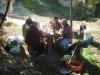 54- 2 Octobre 2006 Repas dans la falunière