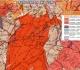 Le Mont Beuvray - Extrait de la carte géologique de la France au 1/50 000 du BRGM