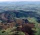 Vue aérienne du Mont Beuvray - Photo René Gogey