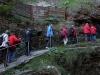 Visite guidée de la rivière souterraine (« Abîme ») de Bramabiau.