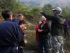 06-03 Les différents arrêts sur la route entre Millau et Peyre : ici, les Anciennes mines de plomb de Piquepoul, (Brocuejouls), barytine.