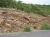 06-14 Micaschistes et gneiss, au-dessus de Castelnau-Pégayrols