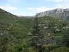 10-20 Après Navacelles, randonnée depuis la route de Blandas vers la résurgence de la Vis (Foux de la Vis), en amont de Navacelles.