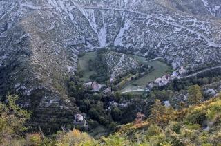 10-31 Le cirque de Navacelles depuis les belvédères de Blandas