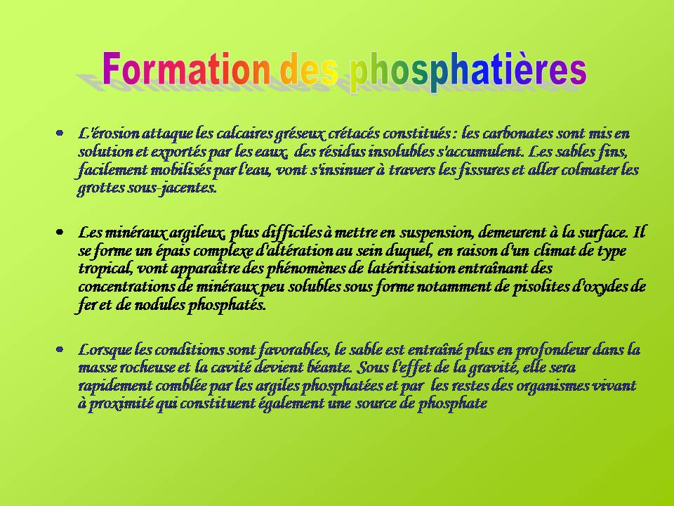 Les phosphati res du lot club g ologique ile de france - Formation gardien d immeuble ile de france ...