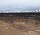 19- A Leirhnjûkur, immenses champs de laves, parfois très récentes, qu'il faut traverser à pied pour atteindre les chutes de Dettifoss
