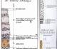 """Les 3 premières coupes lithostratigraphiques (Lavoisier) dans les marges de la feuille n°55, extraite de """"l'Atlas minéralogique de la France"""" par Jean-Etienne Guettard -1767 - Mines Paristech"""