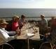 Santorin? Non, Meschers sur Gironde!! en terrasse surplombant l'estuaire