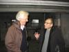Hervé et Hervé en pleine discussion.