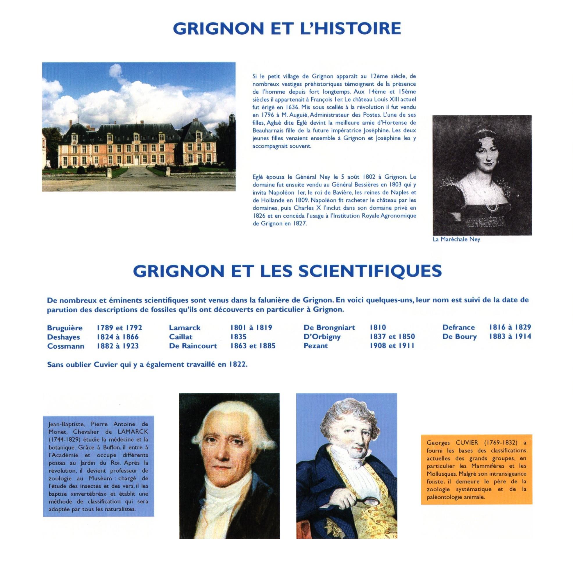 Grignon et les Scientifiques