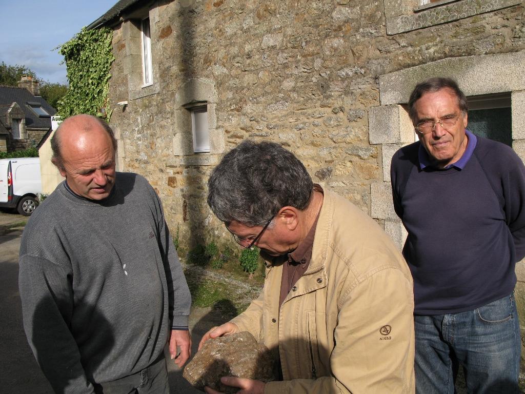 Disthène Offert à Baud par Gilles le Peih