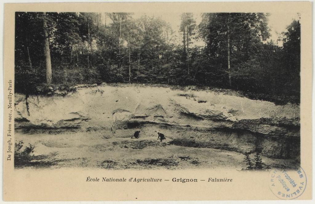 La falunière - photo archives dépt Yvelines