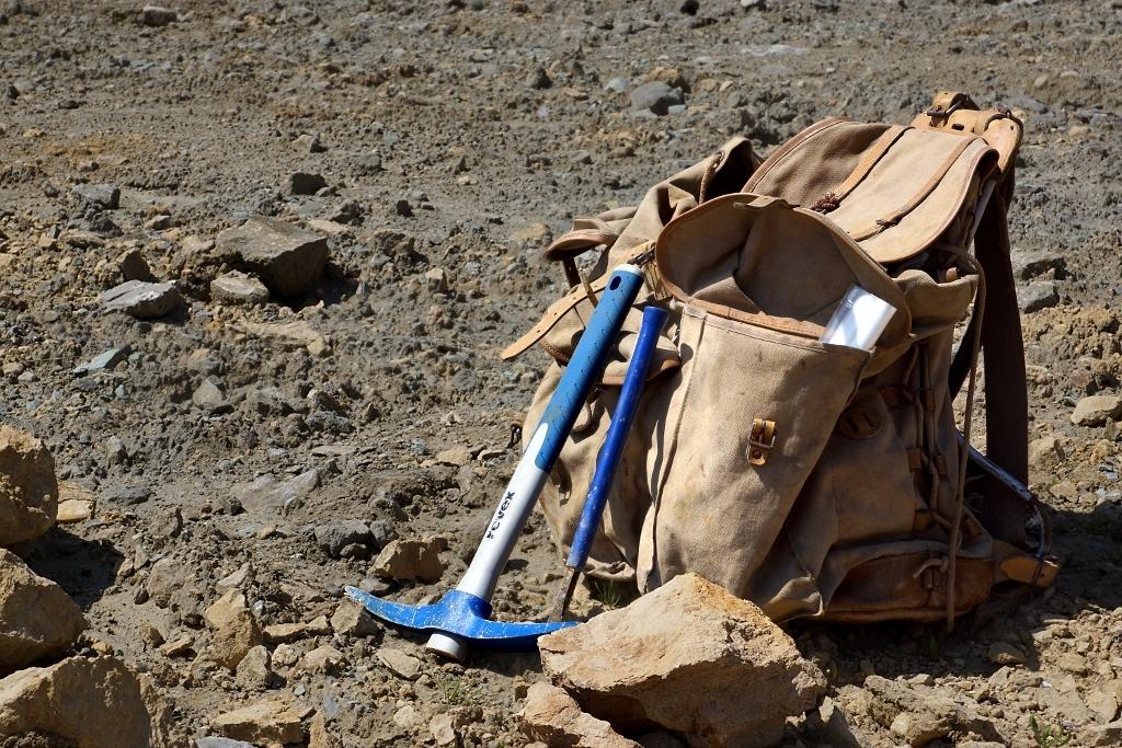 Les outils du bagnard. Photo C.Brion