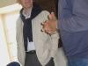 Claude remerciant Monsieur Mélin, Directeur adjoint d'Agro Paris Tech, de sa présence - Photo ML