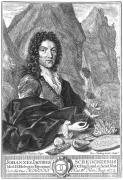 Johann Jakob Scheuchzer, eau-forte de Nutting, d'après Füssli .