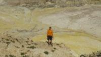 Suzette et Henri dans la caldera de Nisyros