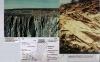 Carrières de Laize la Ville (à droite): discordance du Jurassique sur le Cambrien et de Fresnay le Puceux - La Roche Blain (à gauche): discordance du jurassique sur le Pré-Cambrien - Photo JMP