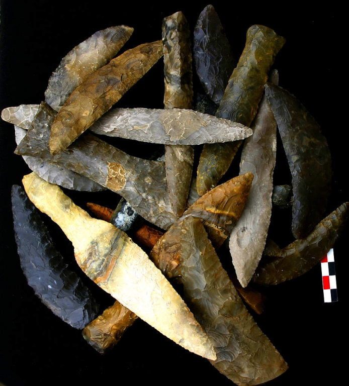 Poignards danois - photo http://prehistoirepierresdememoire.over-blog.com/