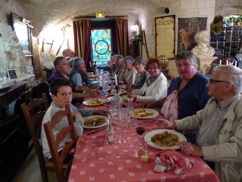 Le traditionnel repas du samedi soir à Creully