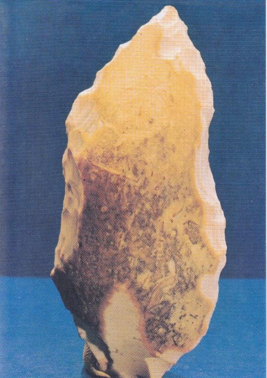 Paléolithique moyen, Limace ; bords de Loire (58)