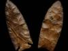 Dovetail et lame de couteau, période archaïque - USA