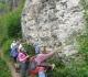 BD-Dolomites de Gerolstein - Au pied de la falaise