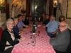 Le soir, repas à l'hostellerie St Martin à Creuilly. Photo Jacques Dillon
