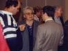 Bernard , Claudine Bernardini, Didier Lafosse membres du club et Michel Ridet Pdt du Club géologique national - 1993