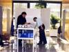 Expo La Poste DC Champs sur Marne 21 11 1998 - Préparatifs : Jacques Géraud et Michel Nguyen