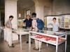 Michel Cartereau Cartereau, enseignant informatique de  l'Ecole, Responsable de l'Association « L'arbre de Fer » et de ses trois jardins botaniques à Grignon, Claude Hy, Nicole Casile