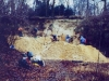 15- Janvier 1994 La foule des habitués dans la falunière