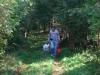 Claude HY sur le chemin de la falunière