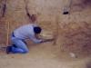 1998 - Didier et une cérithe géante en place