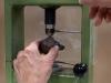 Positionnement de la marcassite dans l'éclateur