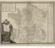 Carte minéralogique de France par Jean-Etienne Guettard - 1781 - Gallica BNF