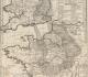Carte minéralogique où l'on voit la nature et la situation des terreins qui traversent la France et l'Angleterre par Jean-Etienne Guettard (1746) - Considérée comme la première carte géologique jamais publiée - Gallica BNF