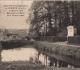 Grignon - La mare au curé. Carte postale collection Maryse Le Gal