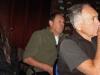 Aude la benjamine du club, François son papa et Jean dont c'est la première visite à Grignon - Photo ML