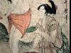 Les pêcheuses d'abalones - Utamaro fin 18ème - Musée Guimet
