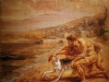 Suivant la mythologie, découverte de la pourpre par le chien d'Héraclès - Peter Paul Rubens (XVIIème) - Musée Donnat/ Bayonne